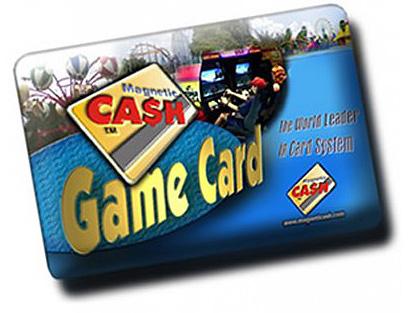 Magentic Cash Game Card