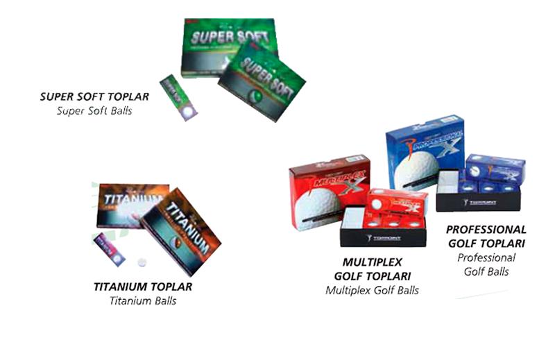 Accesorios Mini Golf - Bolas