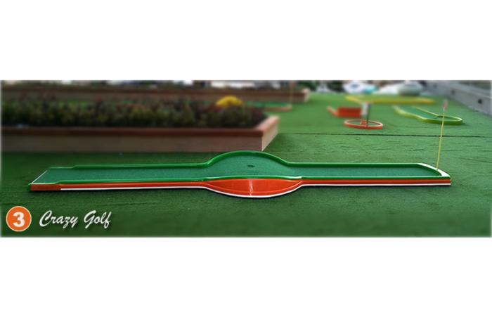 Mini Golf de 18 Hoyos