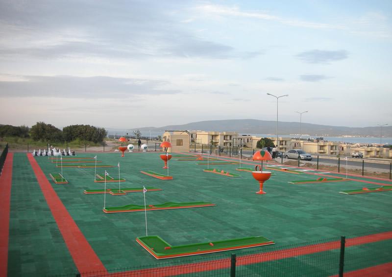 Aplicación Circuito Mini Golf 18 Hoyos