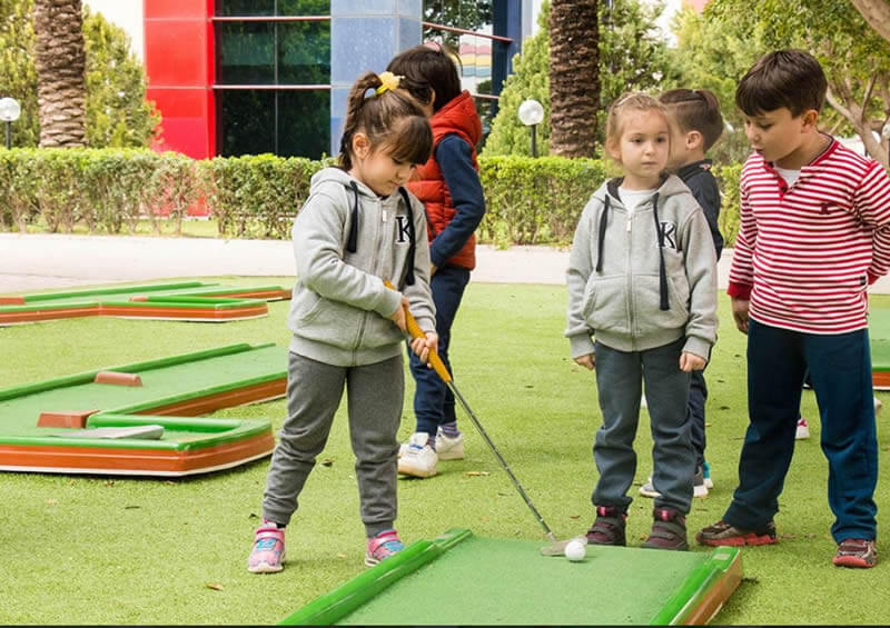 Circuito Mini Golf 9 Hoyos