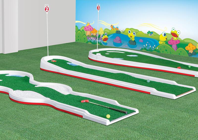 Kinder Golf 3 Hoyos